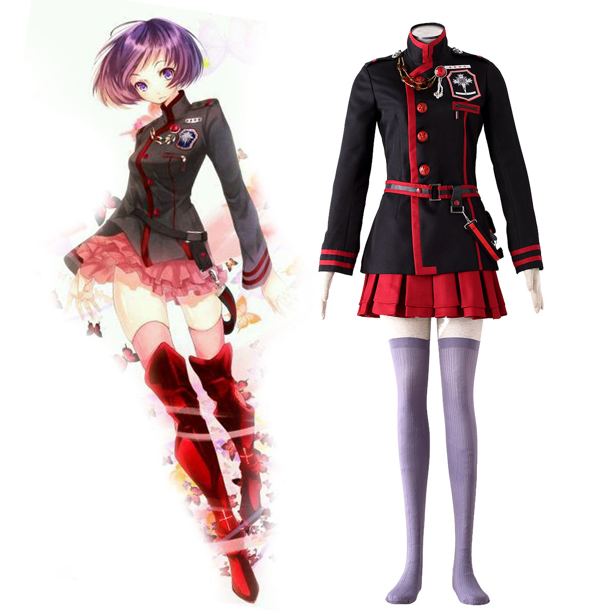 D.Gray-man Linali Lee 3 Cosplay Costumes New Zealand Online Store