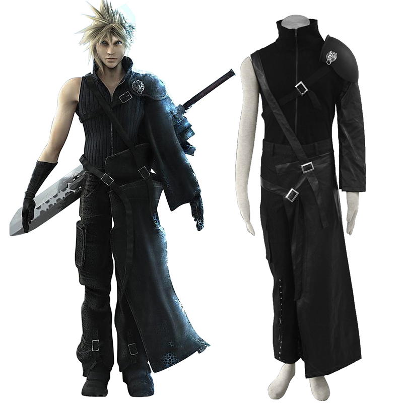 Final Fantasy VII Cloud Strife Cosplay Costumes New Zealand Online Store