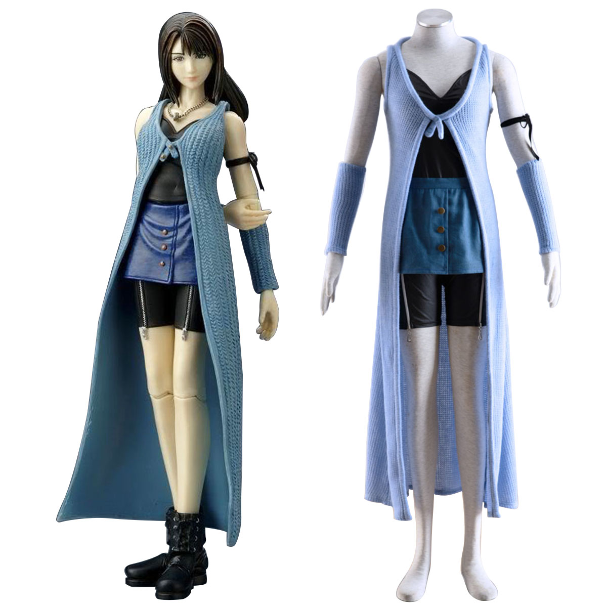 Final Fantasy VIII Rinoa Heartilly 1 Cosplay Costumes New Zealand Online Store