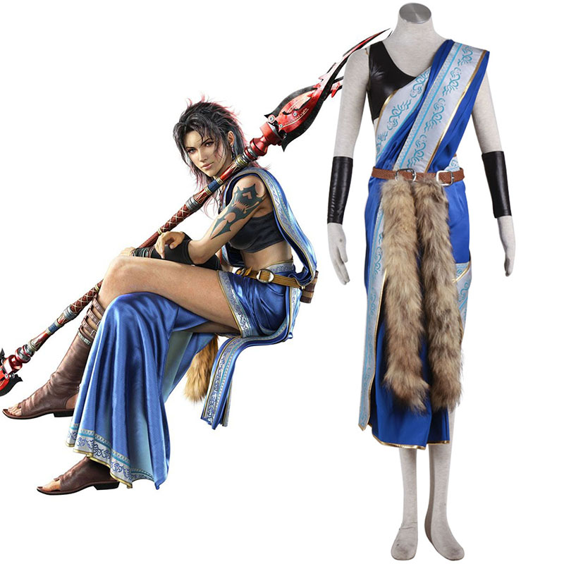 Final Fantasy XIII Oerba Yun Fang 1 Cosplay Costumes New Zealand Online Store