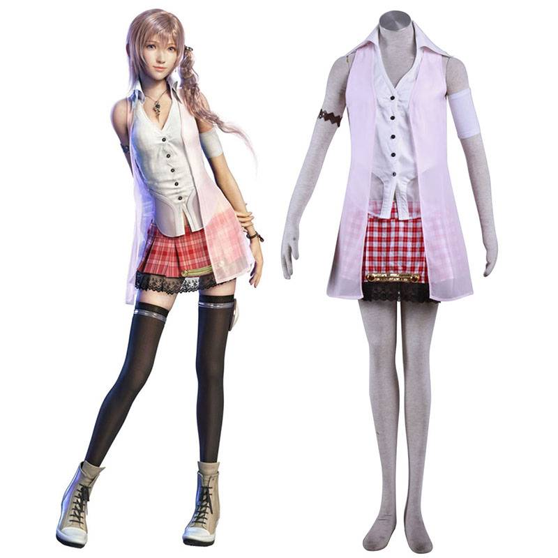 Final Fantasy XIII Serah Farron 1 Cosplay Costumes New Zealand Online Store