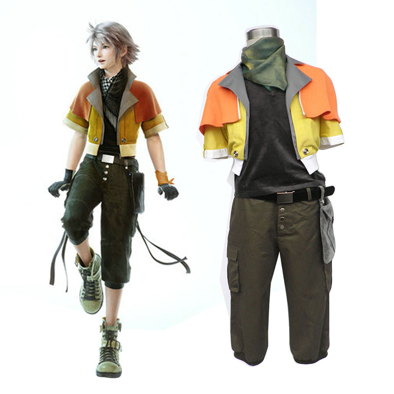 Final Fantasy XIII Hope Estheim 1 Cosplay Costumes New Zealand Online Store