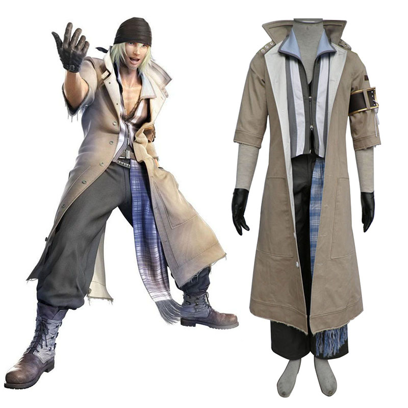Final Fantasy XIII Snow Villiers 1 Cosplay Costumes New Zealand Online Store