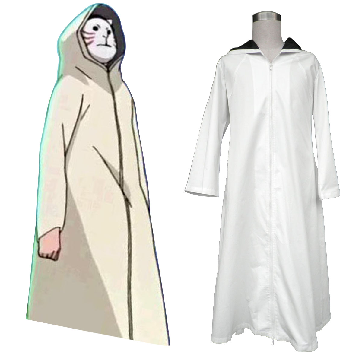 Naruto ANBU Cloak 1 Cosplay Costumes New Zealand Online Store