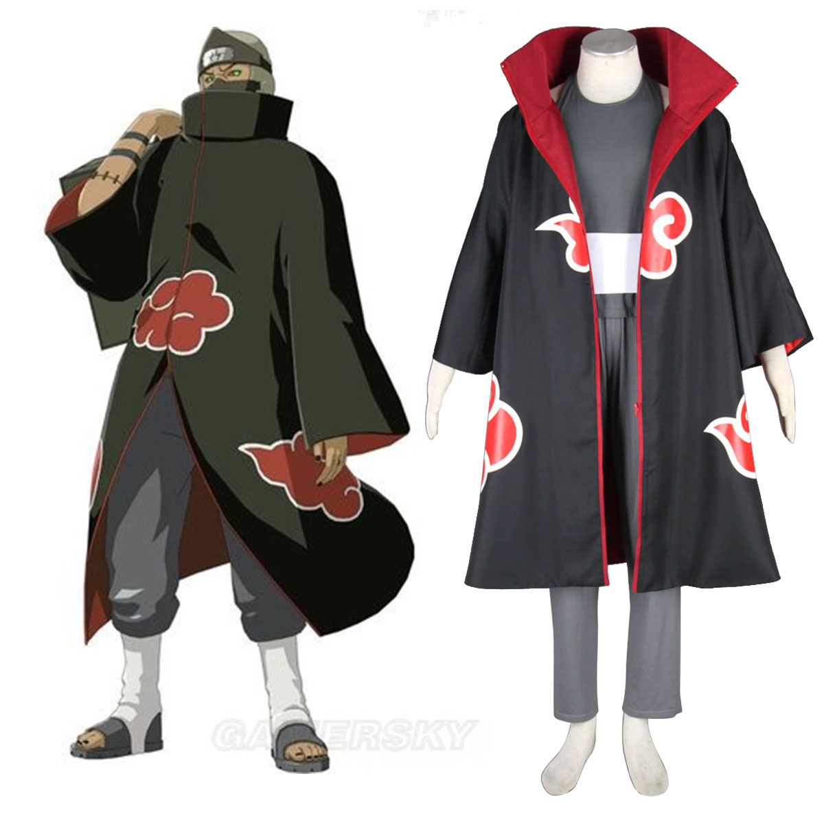 Naruto Kakuzu 1 Cosplay Costumes New Zealand Online Store