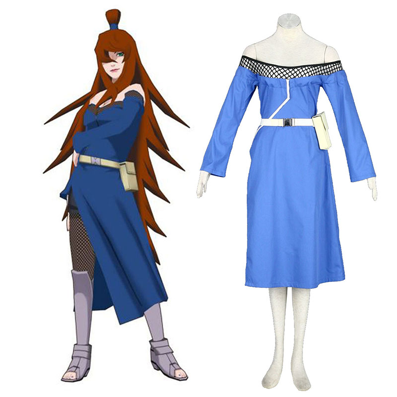Naruto Fifth Mizukage Terumi Mei 1 Cosplay Costumes New Zealand Online Store