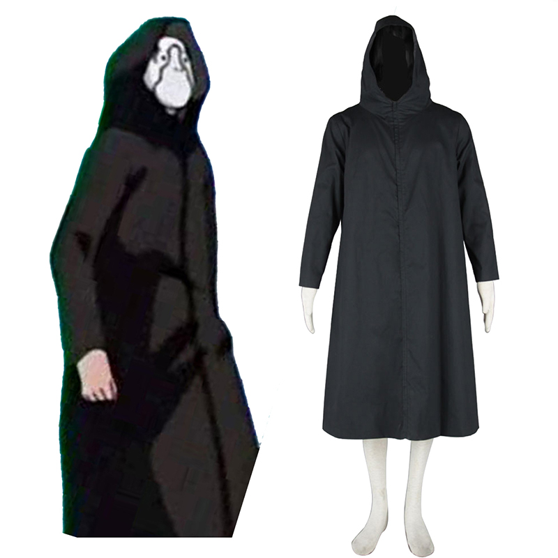 Naruto ANBU Cloak 2 Black Cosplay Costumes New Zealand Online Store