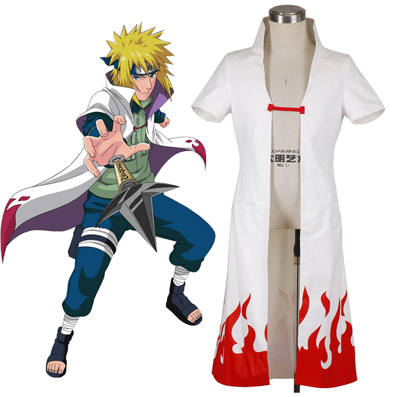 Naruto Fourth Hokage 2 Cosplay Costumes New Zealand Online Store