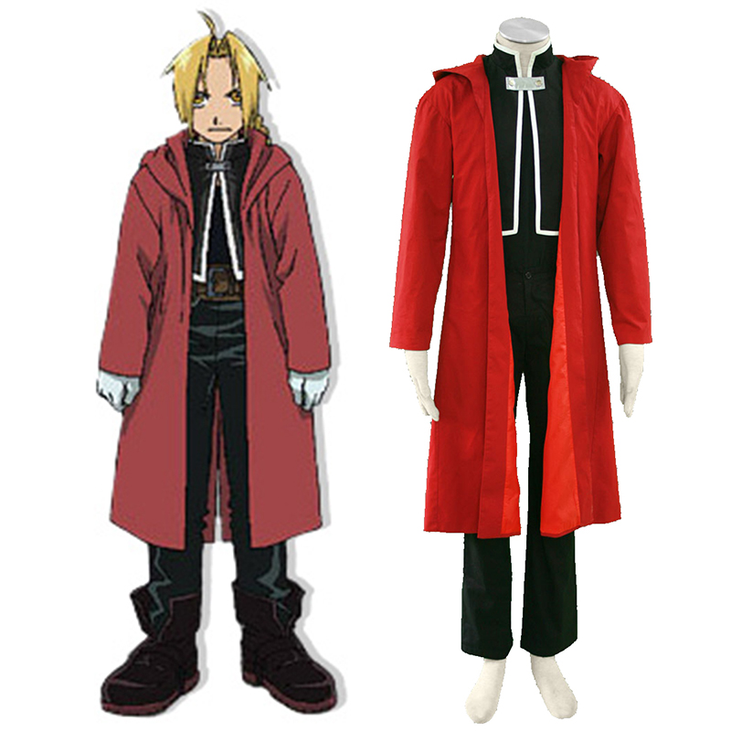 Fullmetal Alchemist Edward Elric 1 Cosplay Costumes New Zealand Online Store