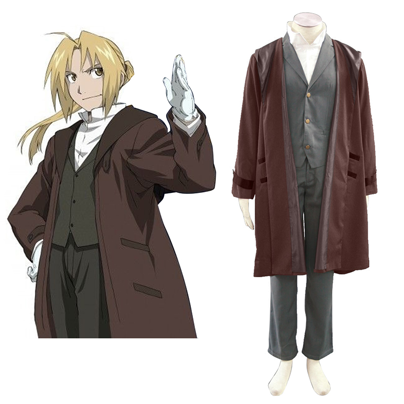 Fullmetal Alchemist Edward Elric 2 Cosplay Costumes New Zealand Online Store