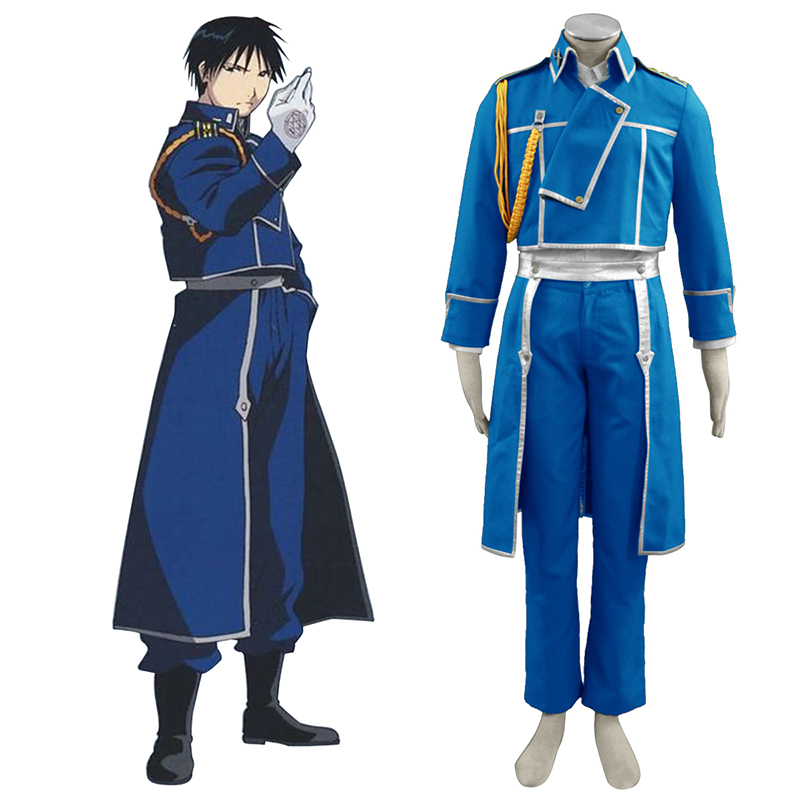 Fullmetal Alchemist Roy Mustang 1 Cosplay Costumes New Zealand Online Store