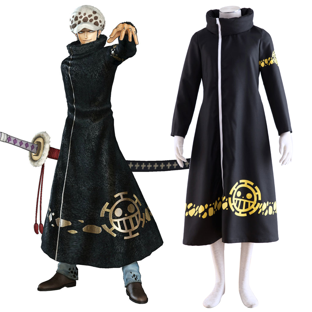 One Piece Trafalgar Law 2 Cosplay Costumes New Zealand Online Store