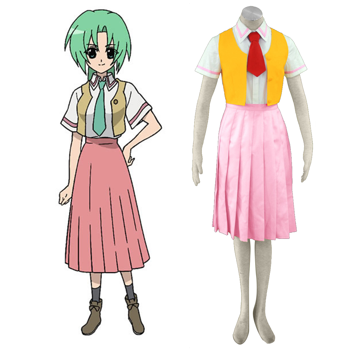 Higurashi When They Cry Sonozaki Mion 1 Cosplay Costumes New Zealand Online Store