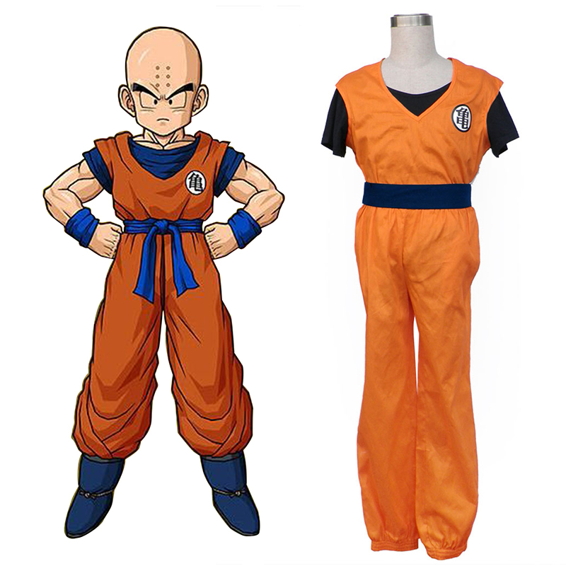 Dragon Ball Krillin Cosplay Costumes New Zealand Online Store