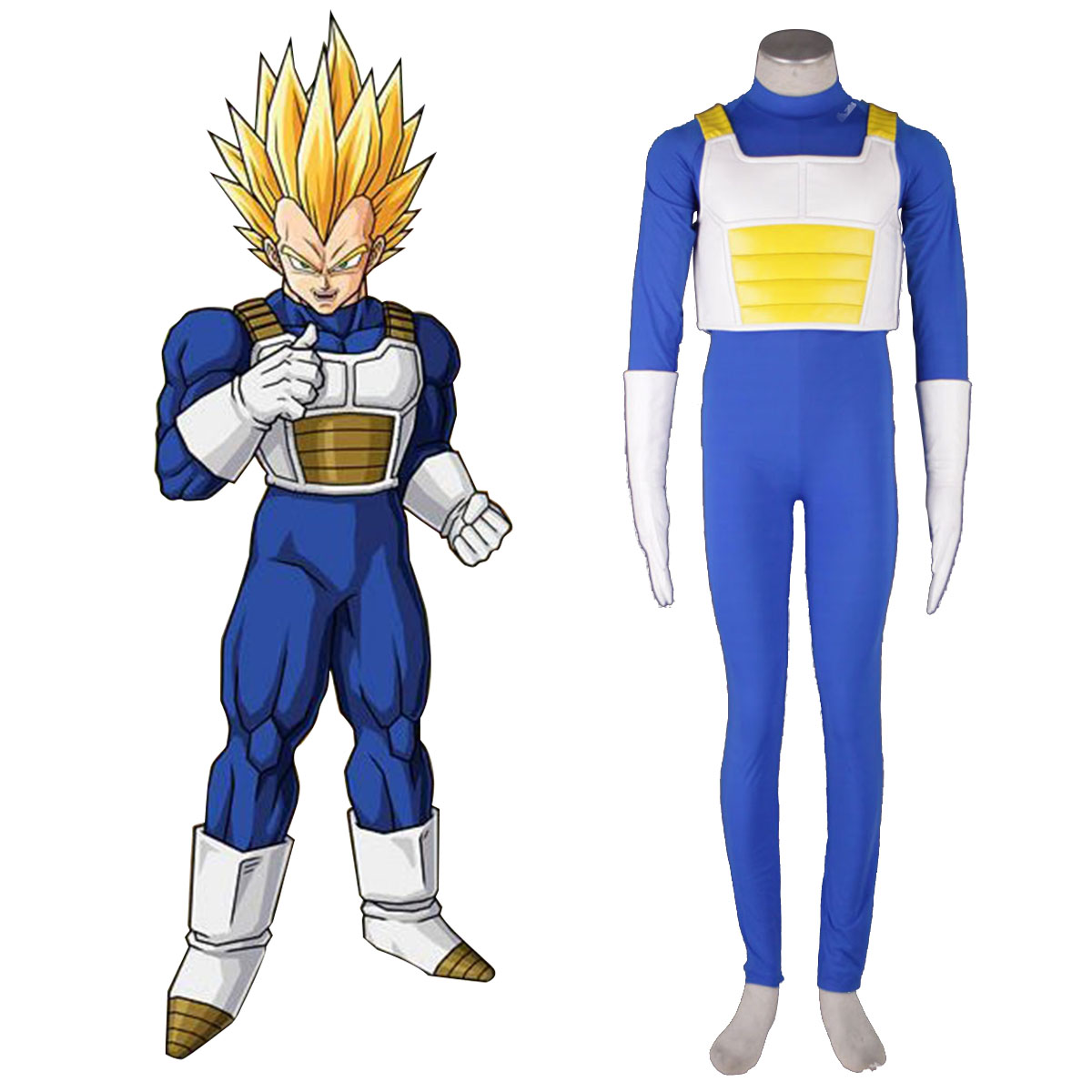 Dragon Ball Vegeta 3 Cosplay Costumes New Zealand Online Store