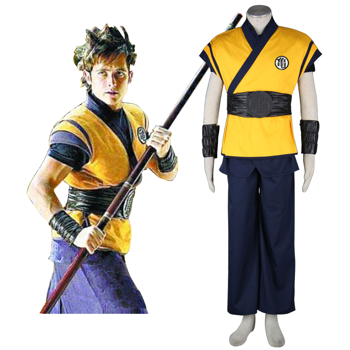 Dragon Ball Son Goku 3 Cosplay Costumes New Zealand Online Store