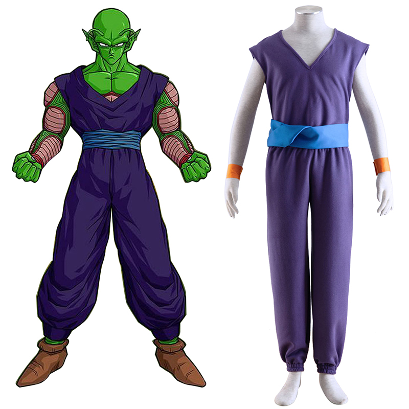 Dragon Ball Piccolo 1 Purple Cosplay Costumes New Zealand Online Store