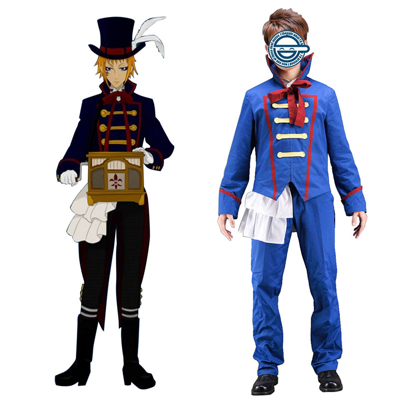 Black Butler Drocell Caines 1 Cosplay Costumes New Zealand Online Store
