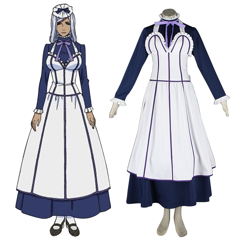 Black Butler Hannah Annafellows 1 Maid Cosplay Costumes New Zealand Online Store