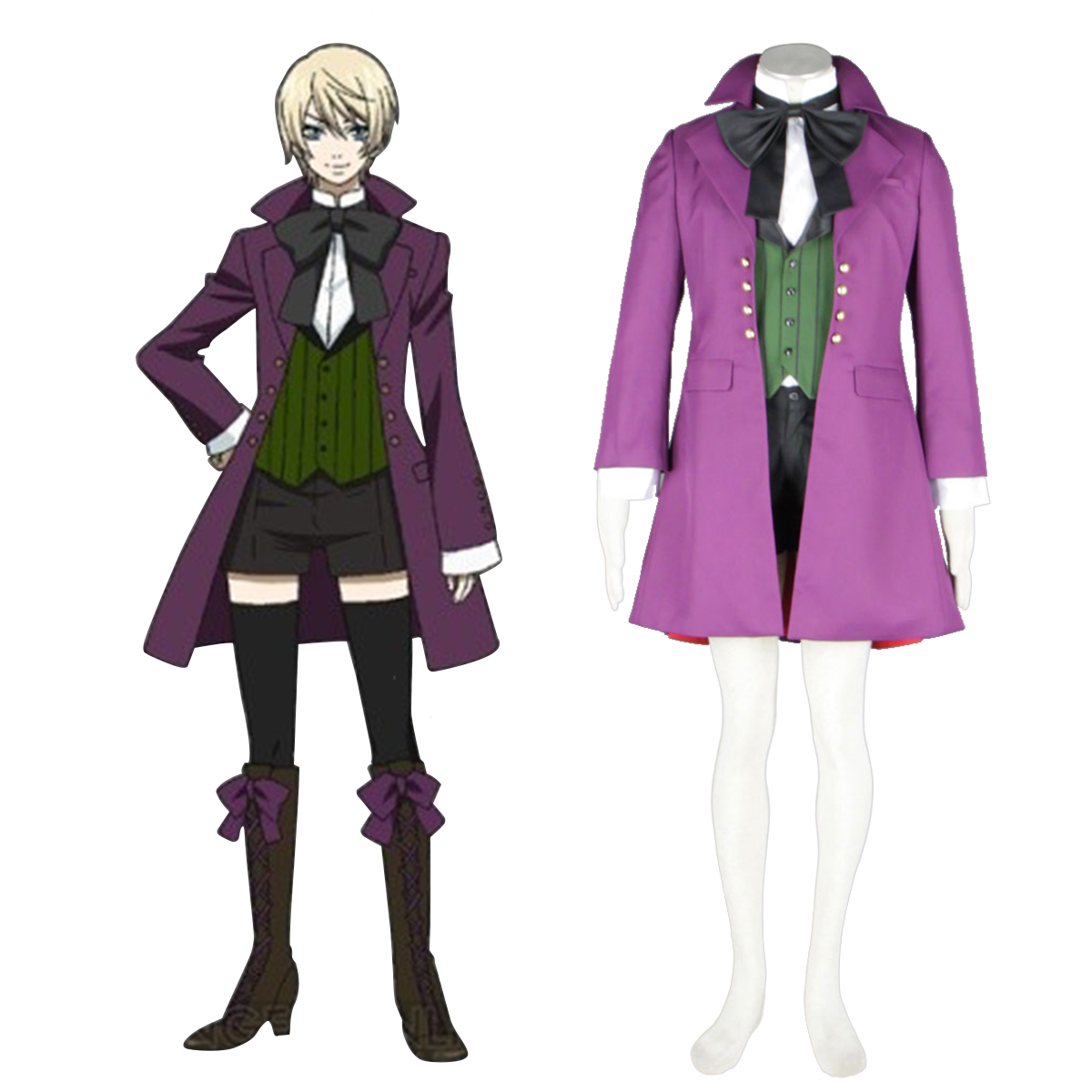 Black Butler Alois Trancy 1 Cosplay Costumes New Zealand Online Store