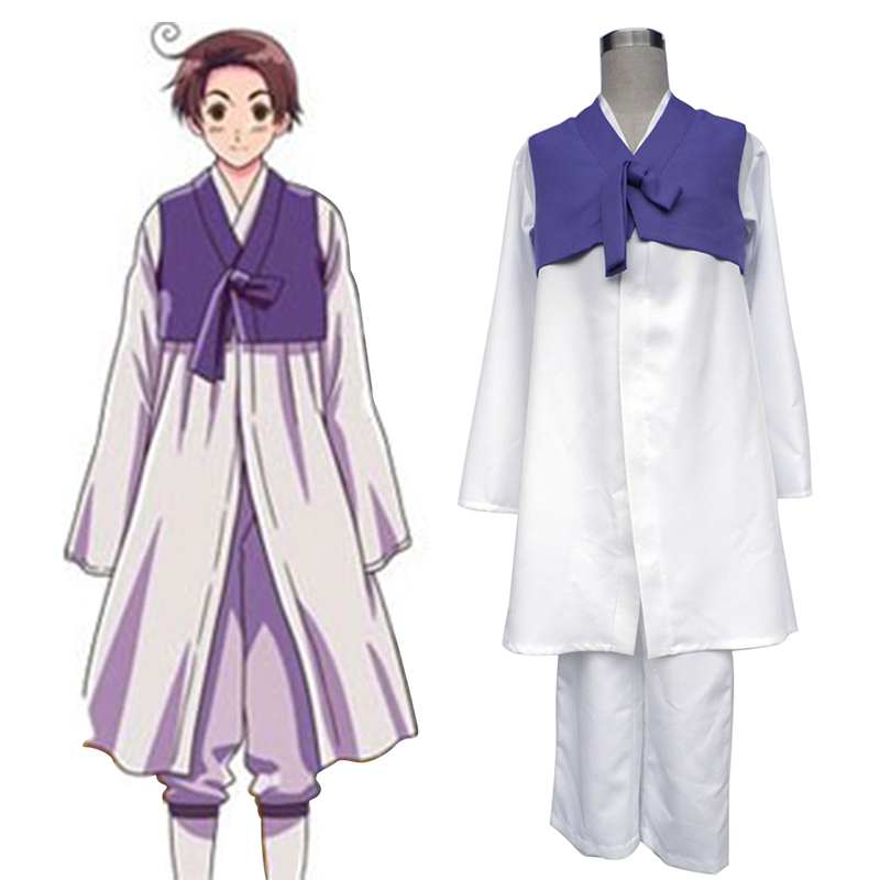 Axis Powers Hetalia South Korea 1 Cosplay Costumes New Zealand Online Store