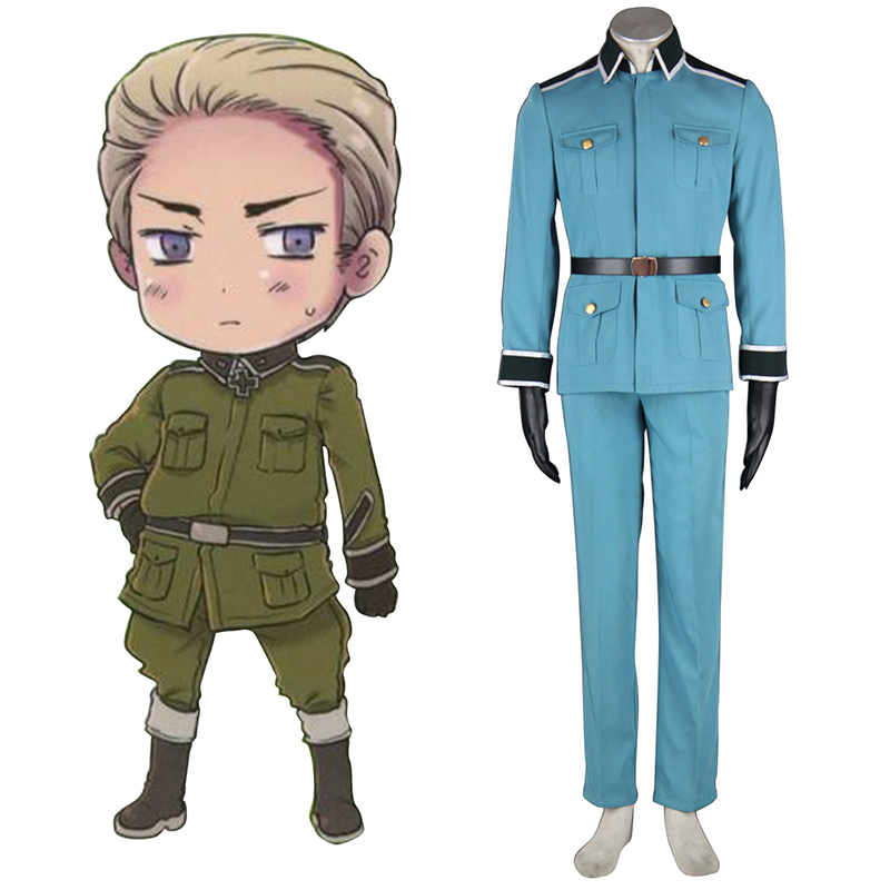 Axis Powers Hetalia Germany 1 Military Uniform Cosplay Costumes New Zealand Online Store