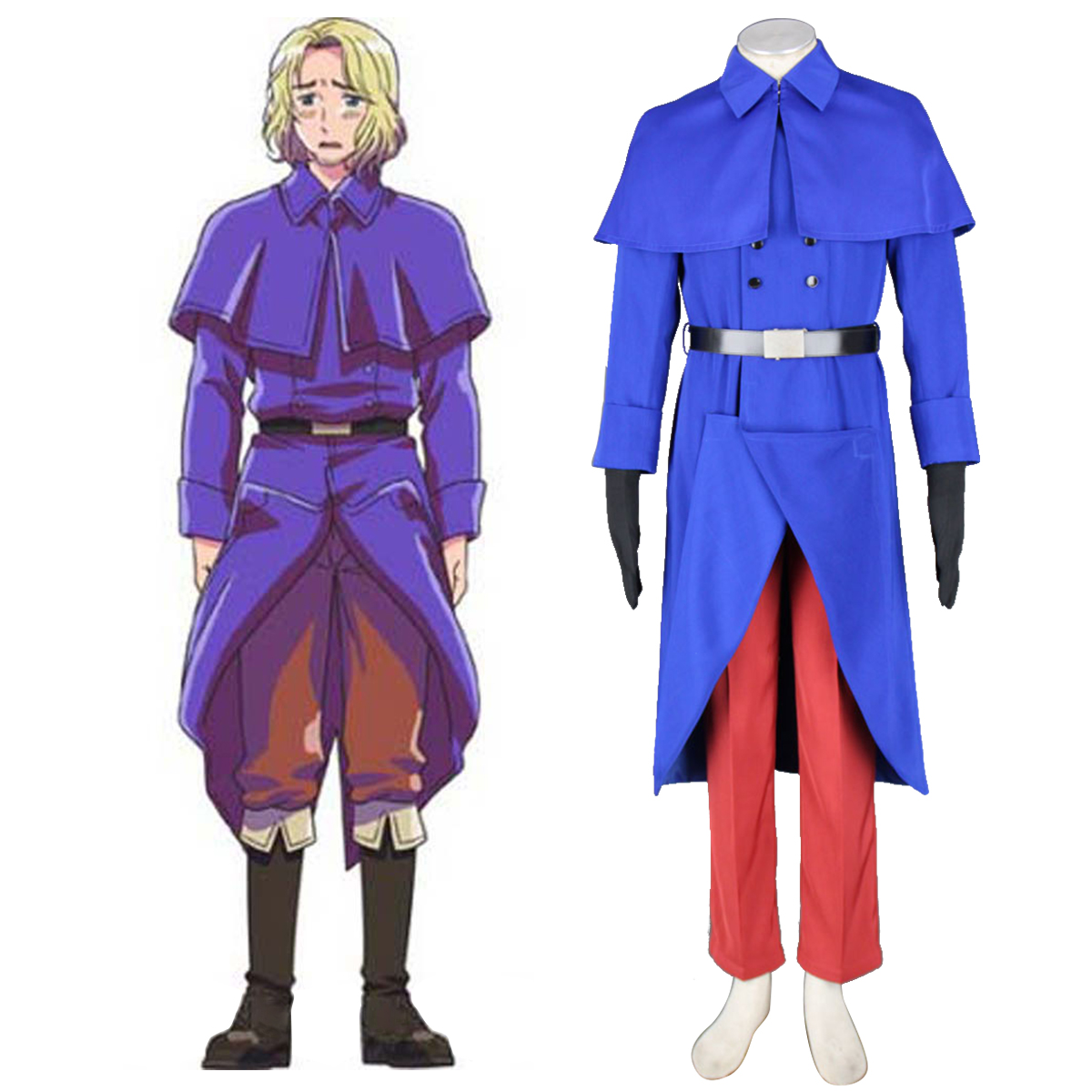 Axis Powers Hetalia France Francis Bonnefeuille 1 Cosplay Costumes New Zealand Online Store