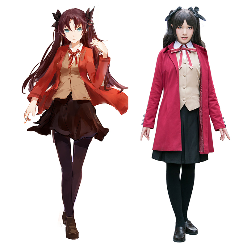 The Holy Grail War Tohsaka Rin 5 Cosplay Costumes New Zealand Online Store