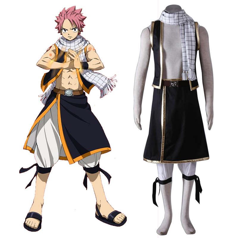 Fairy Tail Natsu Dragneel 1 Cosplay Costumes New Zealand Online Store