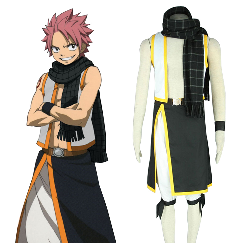Fairy Tail Natsu Dragneel 2 Cosplay Costumes New Zealand Online Store