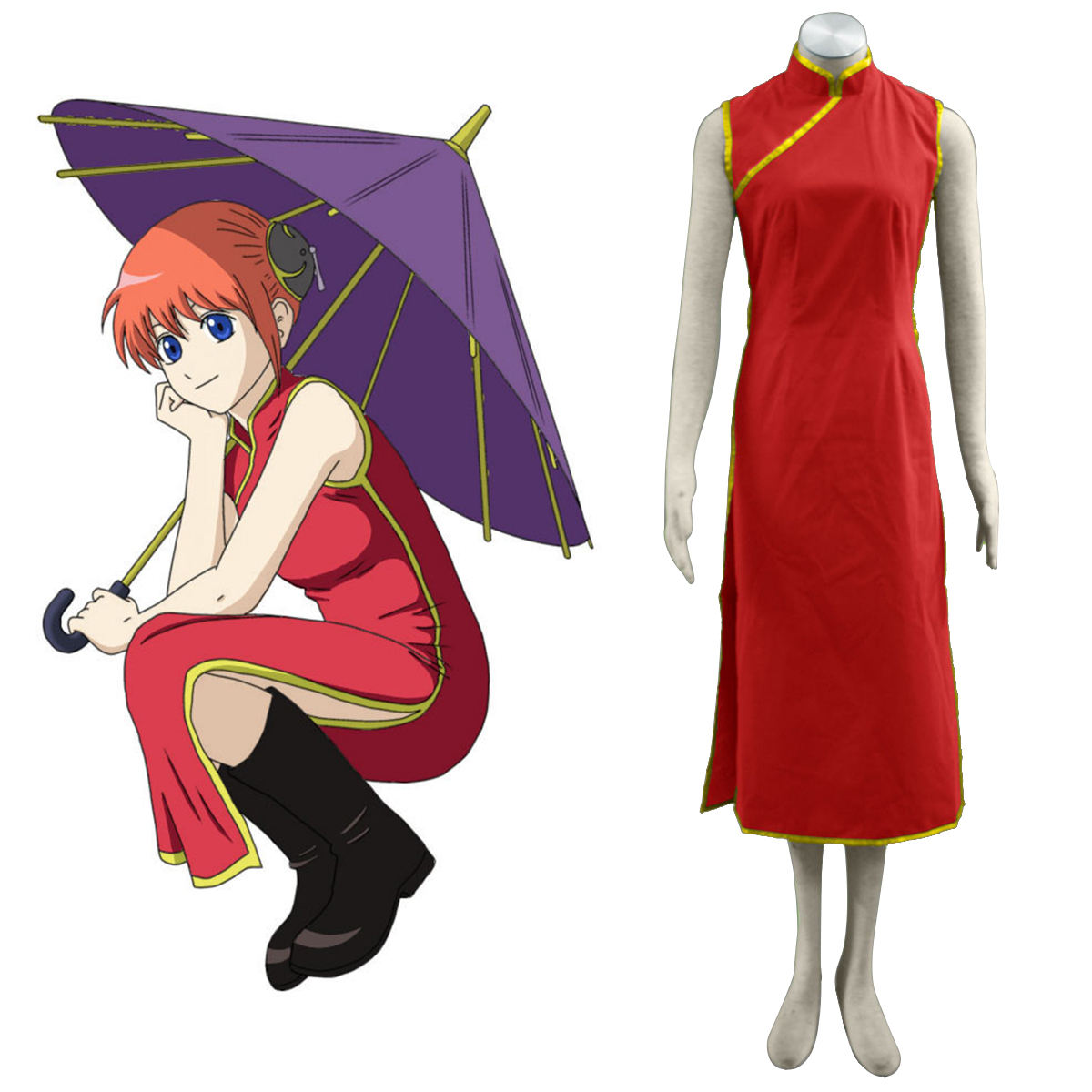 Gin Tama Kagura 1 Cosplay Costumes New Zealand Online Store