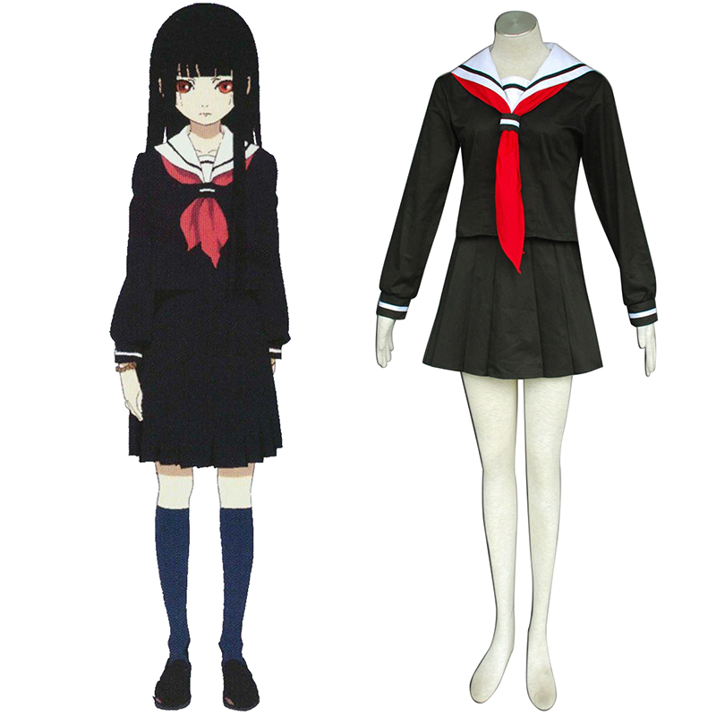 Hell Girl Enma Ai 2 Sailor Cosplay Costumes New Zealand Online Store