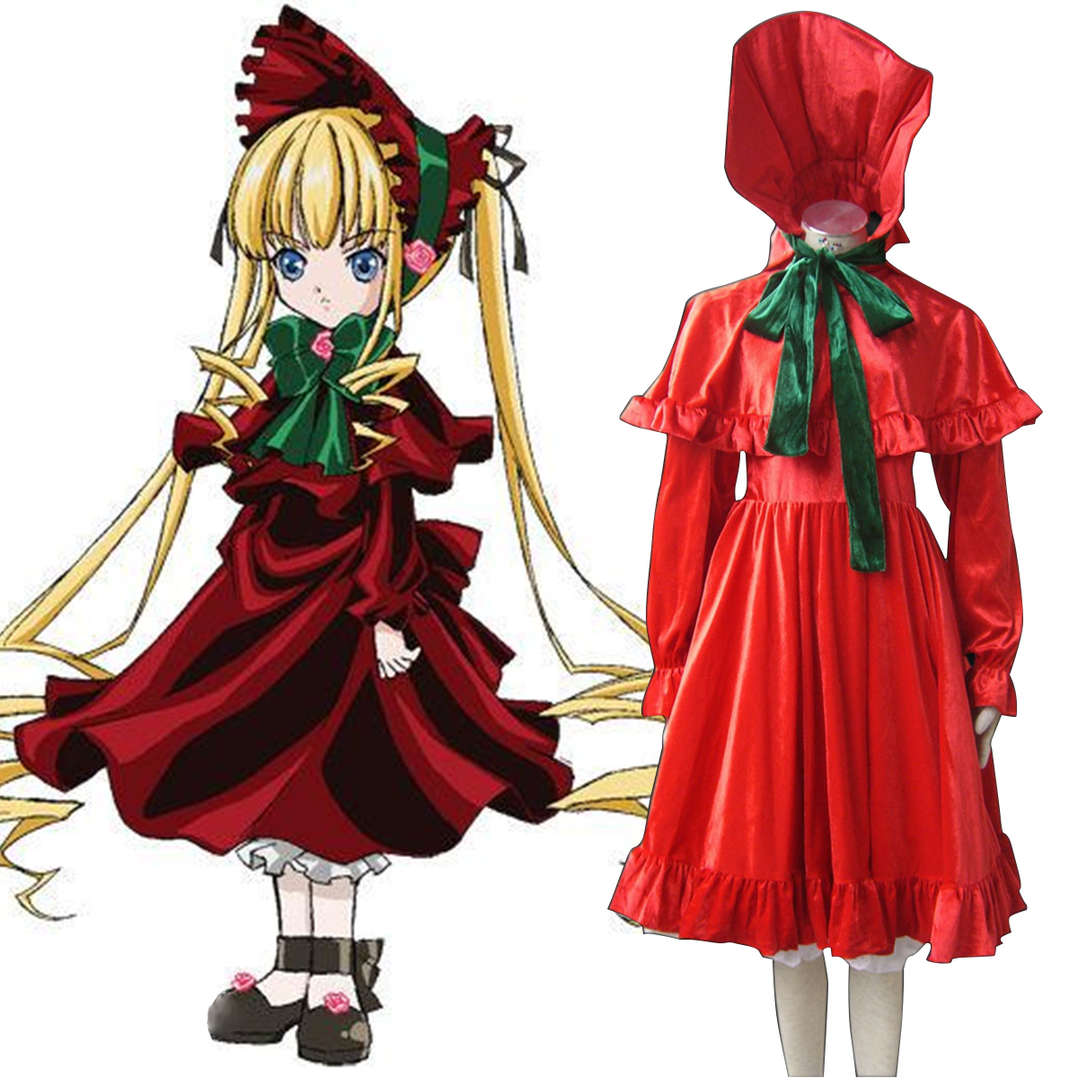 Rozen Maiden Shinku Cosplay Costumes New Zealand Online Store