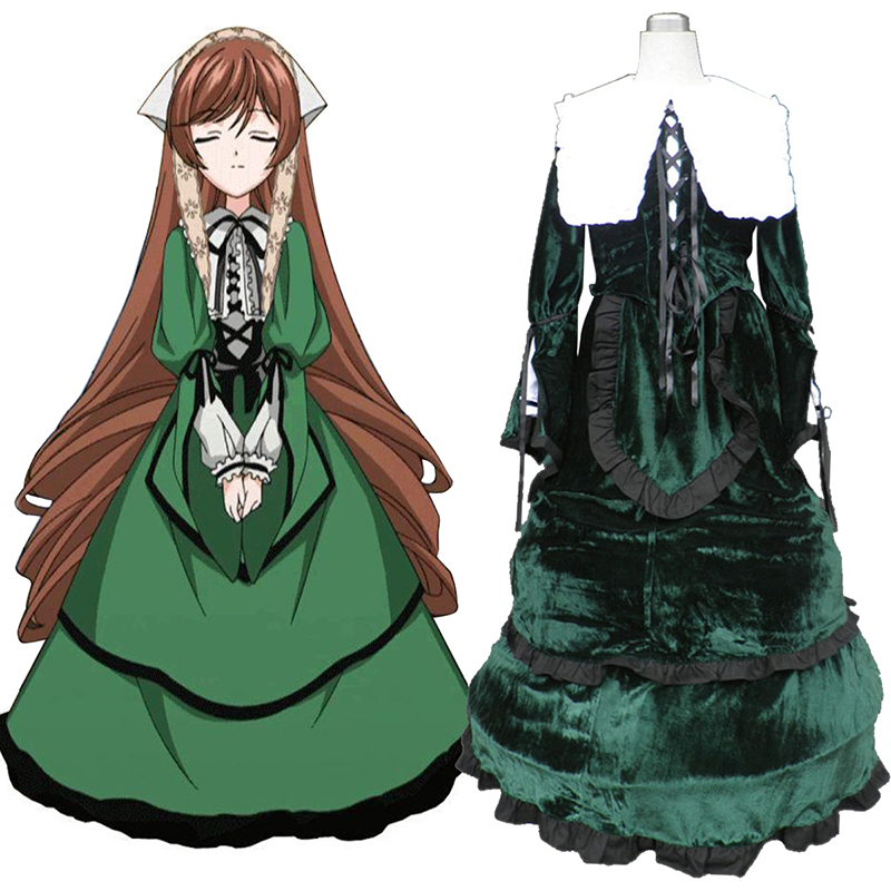 Rozen Maiden Suiseiseki Cosplay Costumes New Zealand Online Store