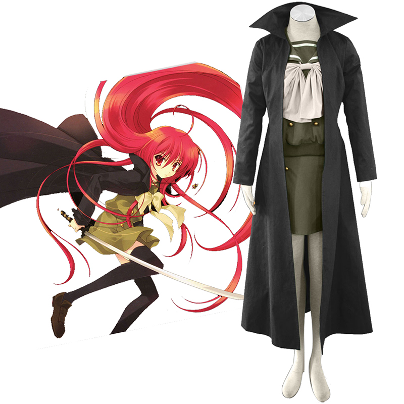 Shakugan no Shana Shana 3 Cloak Cosplay Costumes New Zealand Online Store