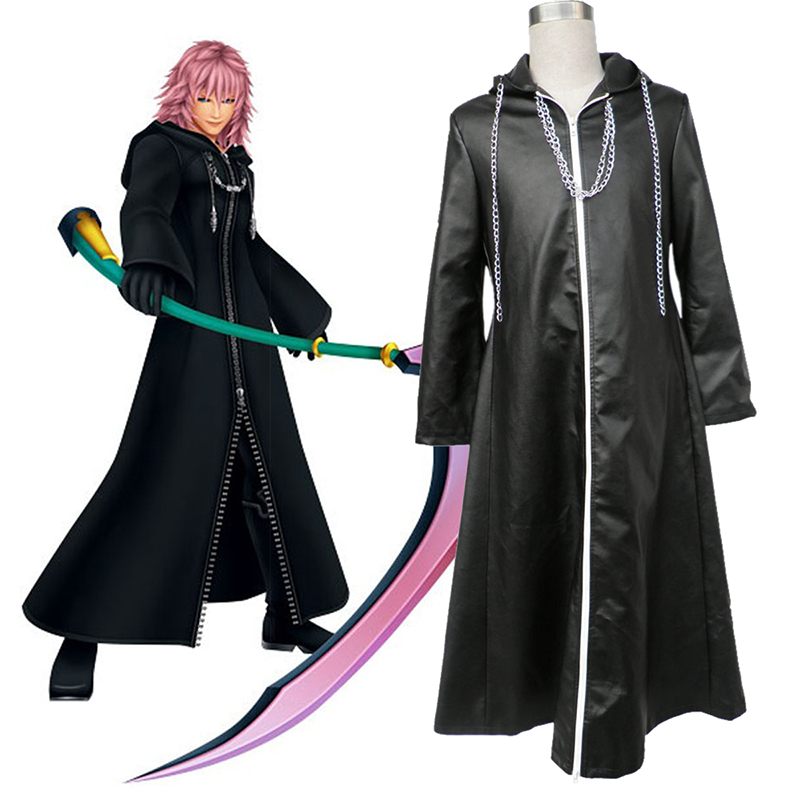 Kingdom Hearts Organization XIII Marluxia 2 Cosplay Costumes New Zealand Online Store