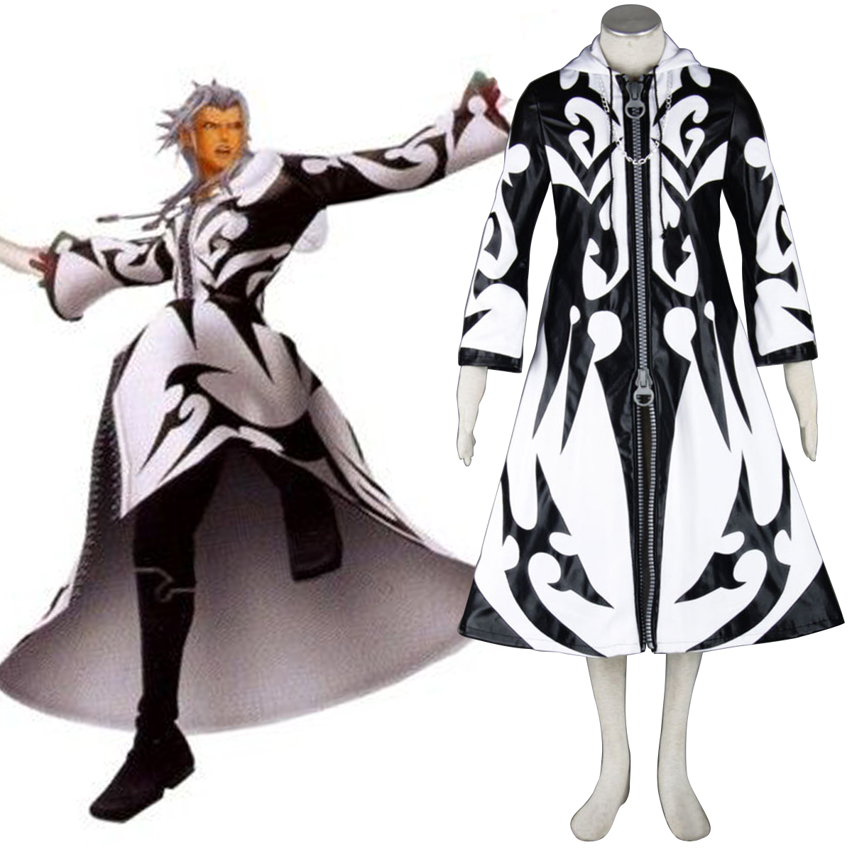 Kingdom Hearts Xemnas 1 Cosplay Costumes New Zealand Online Store