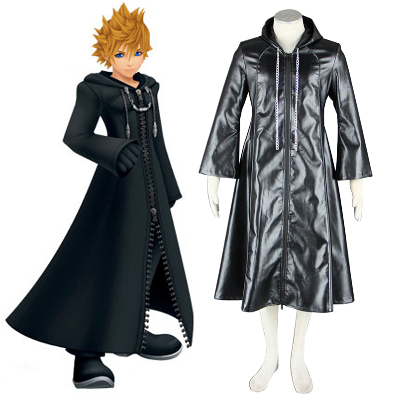Kingdom Hearts Organization XIII 3 Roxas Cosplay Costumes New Zealand Online Store