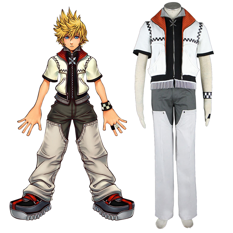 Kingdom Hearts Roxas 1 Cosplay Costumes New Zealand Online Store