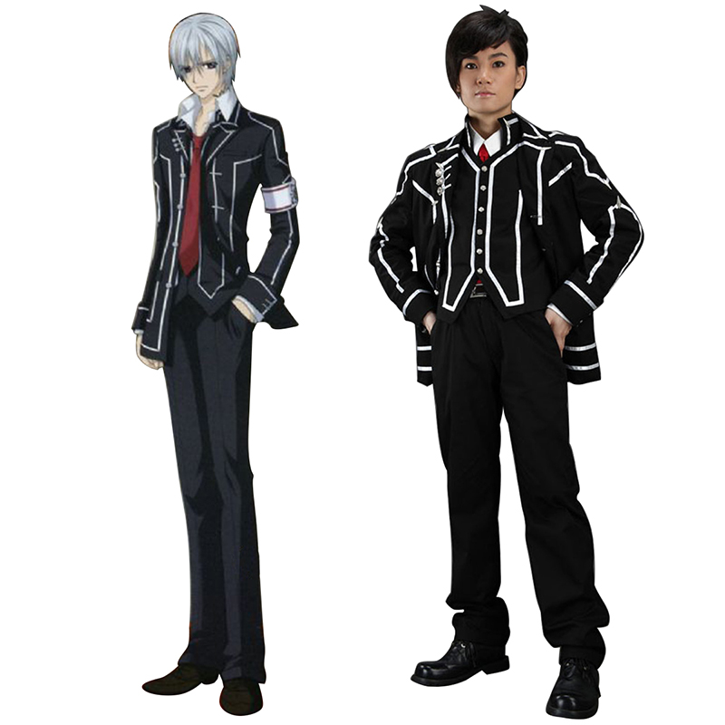 Vampire Knight Day Class Black Male School Uniform Cosplay Costumes New Zealand Online Store