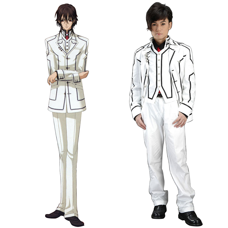 Vampire Knight Night Class White Male School Uniform Cosplay Costumes New Zealand Online Store