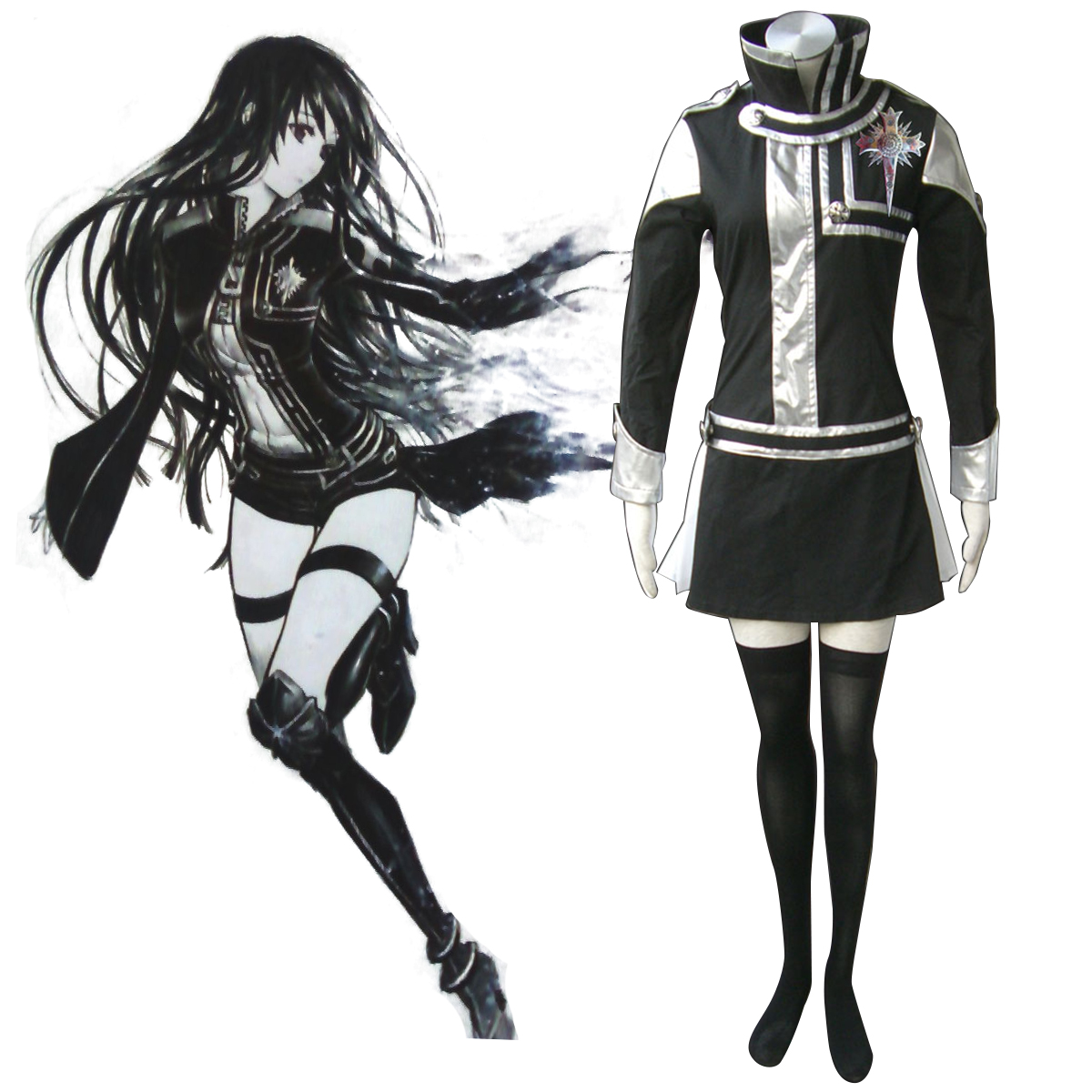 D.Gray-man Lenalee Lee 1 Cosplay Costumes New Zealand Online Store