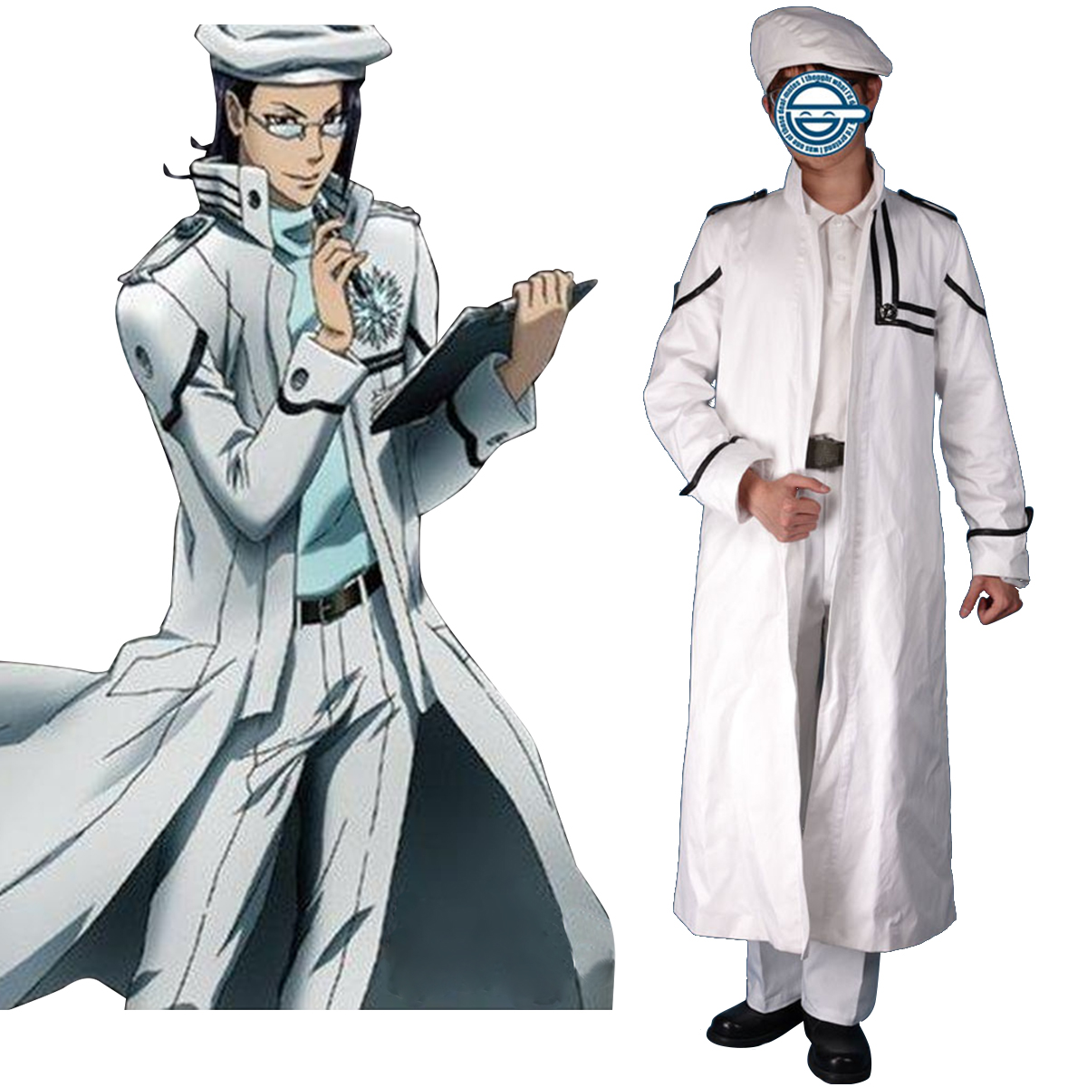 D.Gray-man Komui Lee 1 Cosplay Costumes New Zealand Online Store
