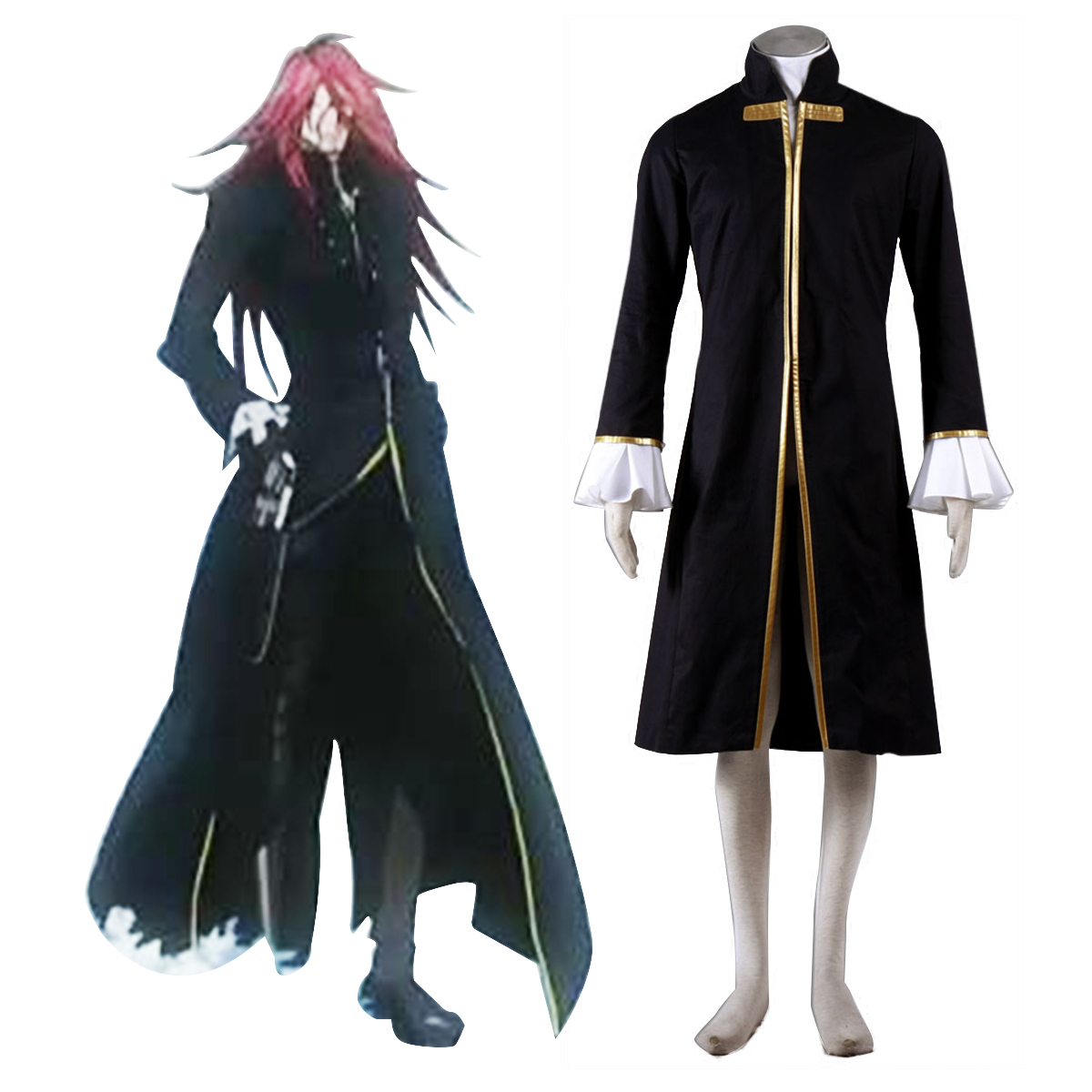 D.Gray-man Cross Maria 1 Cosplay Costumes New Zealand Online Store