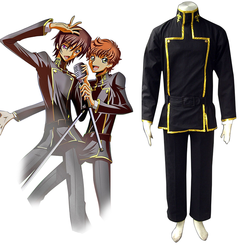 Code Geass Lelouch Lamperouge 1 Cosplay Costumes New Zealand Online Store