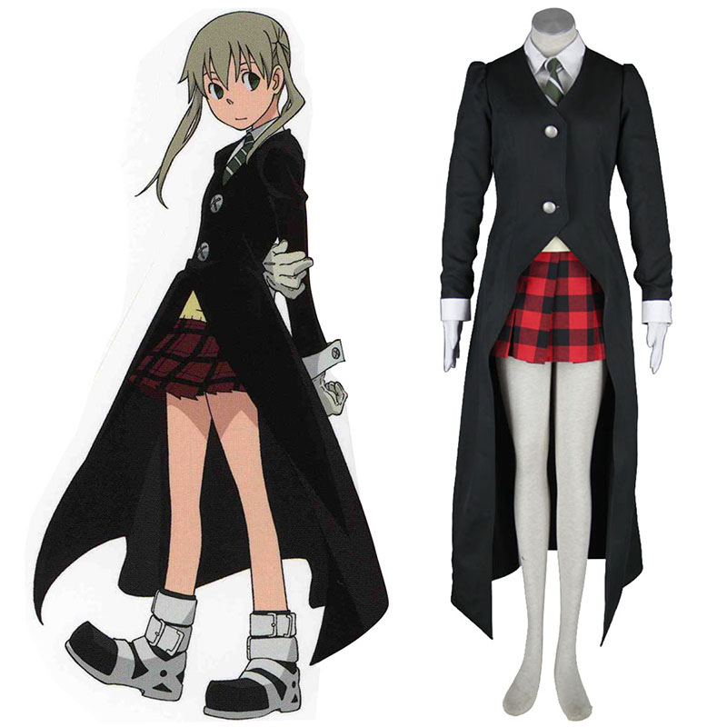 Soul Eater Maka Albarn 1 Black Cosplay Costumes New Zealand Online Store