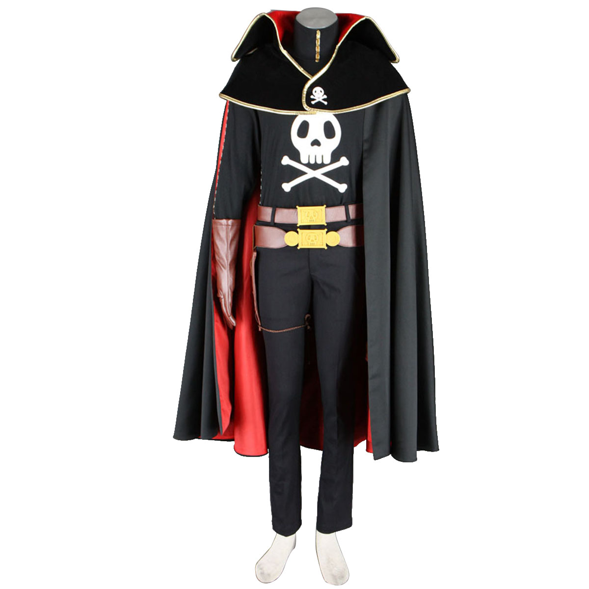 Galaxy Express 999 Captain Harlock Cosplay Costumes New Zealand Online Store