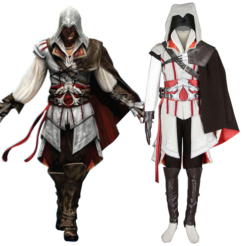 Assassins Creed II Assassin 2 Cosplay Costumes New Zealand Online Store