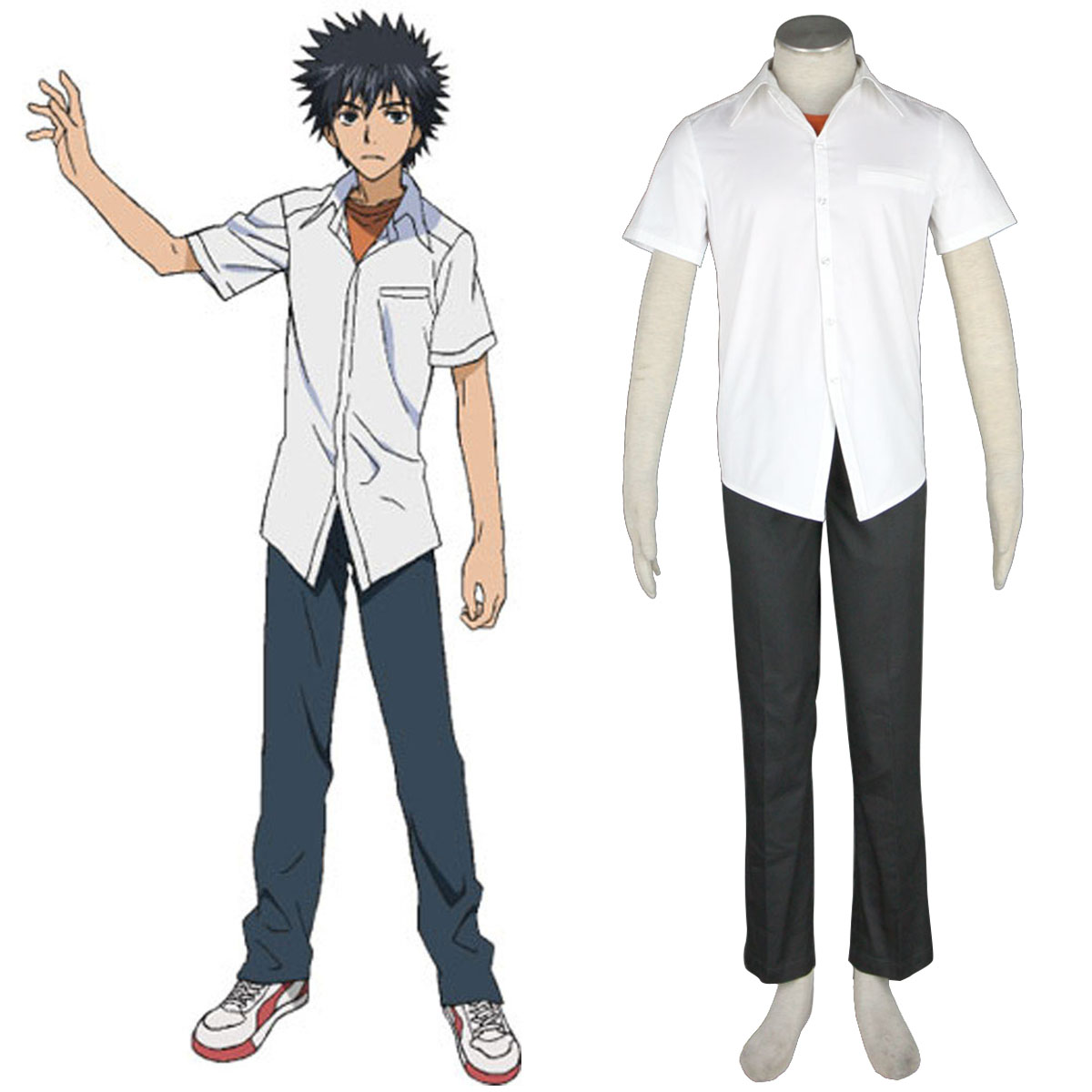 A Certain Magical Index Kamijou Touma 1 Cosplay Costumes New Zealand Online Store