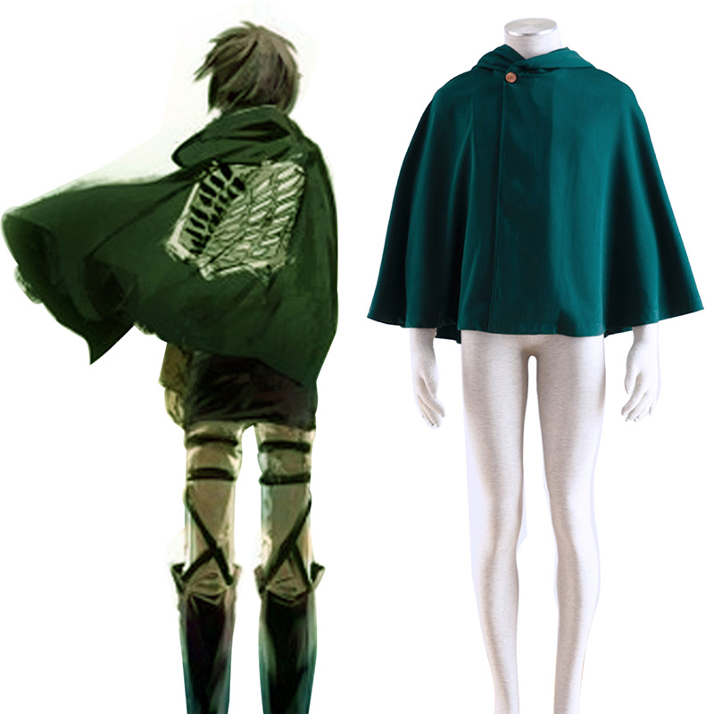 Attack on Titan Survey Corps Cloak 2 Cosplay Costumes New Zealand Online Store